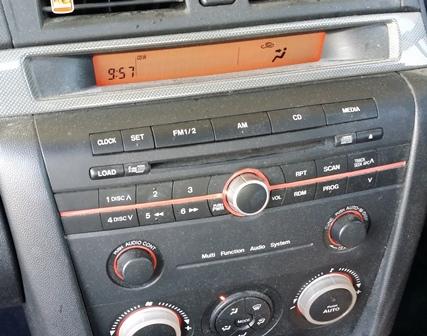 mazda 3 car stereo repairs