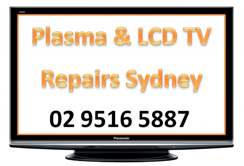 plasma lcd tv repairs sydney australia service tv fix